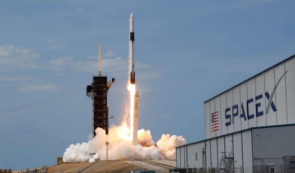 Who is funding the SpaceX's Mission to ISS and Why?