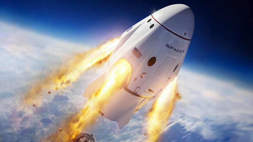 SpaceX Crew Dragon's 2020 Launch - A Remarkable Event in Manned Space Travel