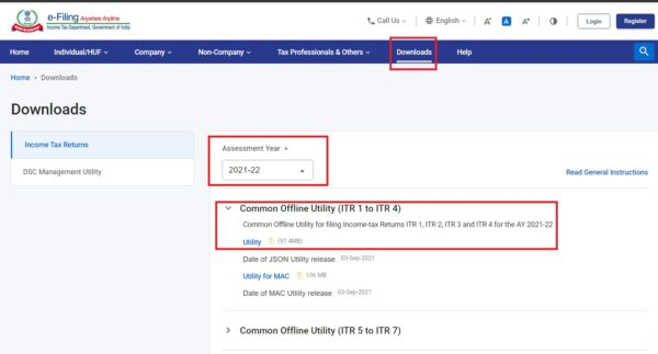 File tax returns easily using the new Indian Income Tax initiative this year